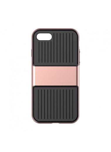 Baseus Iphone 7 / 8 Plus Travel Series Case Kılıf - Roze Gold Renkli